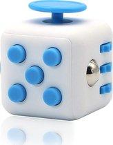 Tokomundo Fidget Cube tegen Stress - Fidget Toys -  Speelgoed Meisjes en Jongens - Blauw