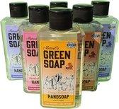 Marcel's Handzeep - 6 Stuks - 4 Geuren! 6x 250ml  - 100% Vegan - Marcel's Green Soap - Handzepen - Huidvriendelijk - Milieuvriendelijk - Plantaardig - Hydraterend - Marcels Greensoap