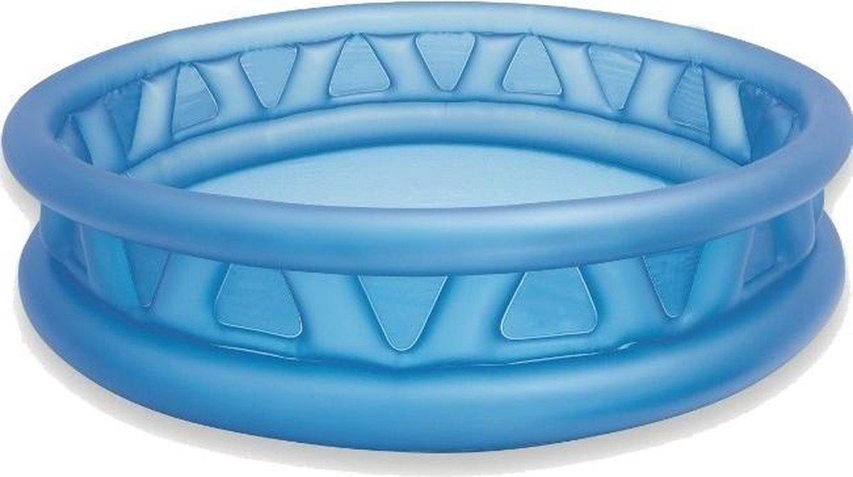 opblaaszwembad 58431NP Soft Side 188 x 46 cm blauw