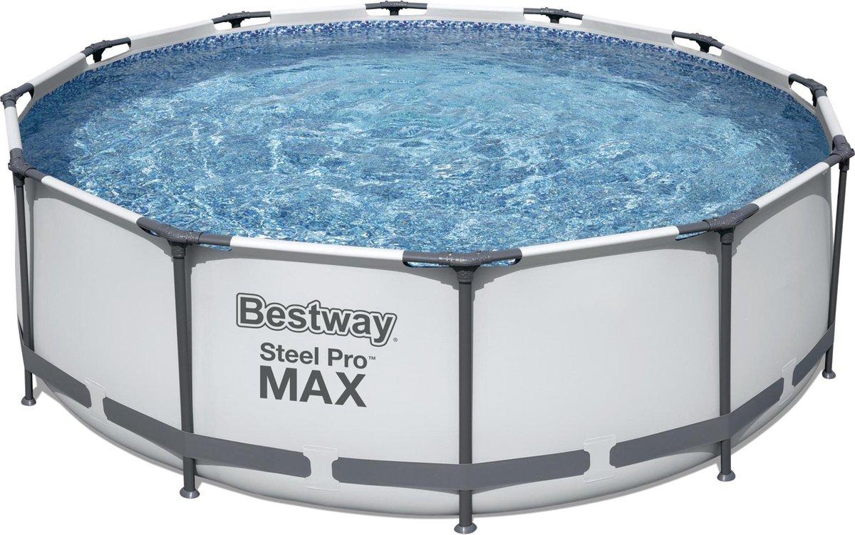 Bestway Steel Pro Max Frame Pool 366x122 cm met filterpomp - model 2022