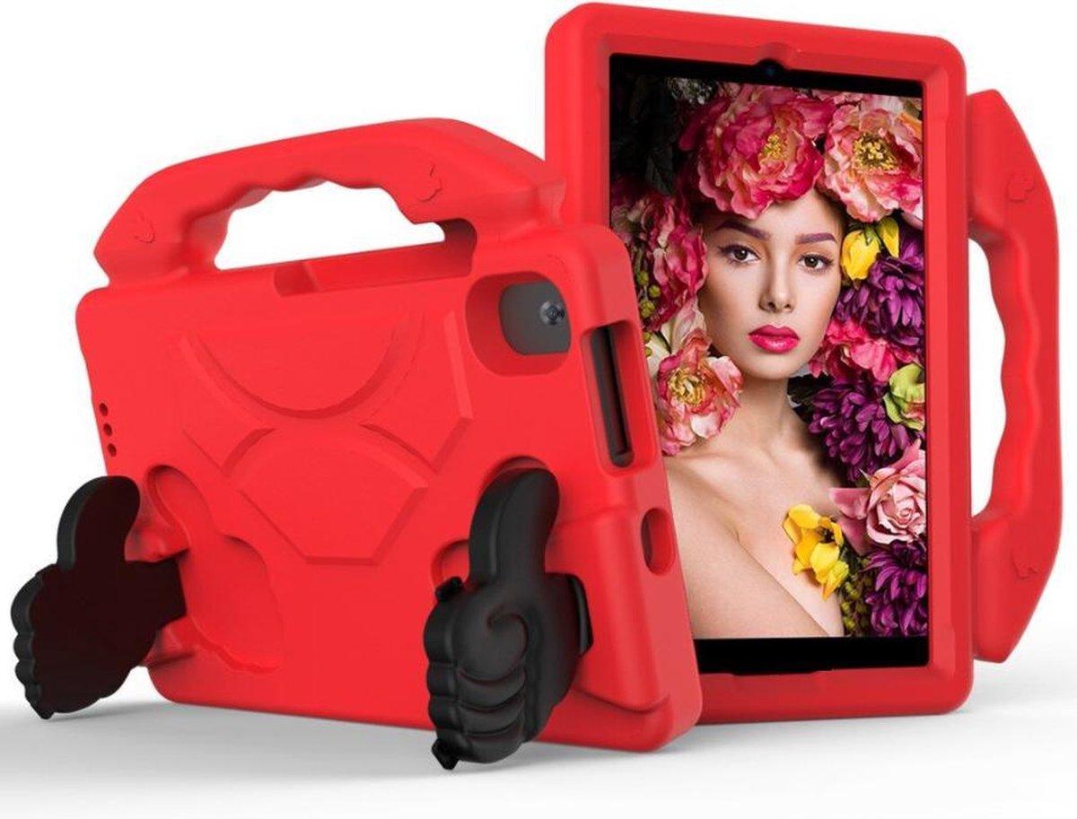 Kindertablet M81 Rood - kidstablet disney+ netflix - Tablet 8 inch - 64GB - Android 9.0 - vanaf 2 jaar - Scherp hd ips beeld - leerzame tablet voor kinderen - Wifi - Bluetooth - voor camera - sim kaart slots - kinder tablet - uitstekende batterij