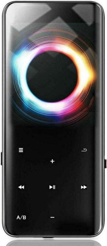 MP3 Speler - MP3 Speler inclusief Oordopjes - MP3 16GB Geheugen - MP3 Speler Zwart - Bluetooth Functie ! - Nieuwe Versie