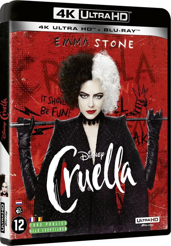 Cruella (4K Ultra-HD Blu-ray)