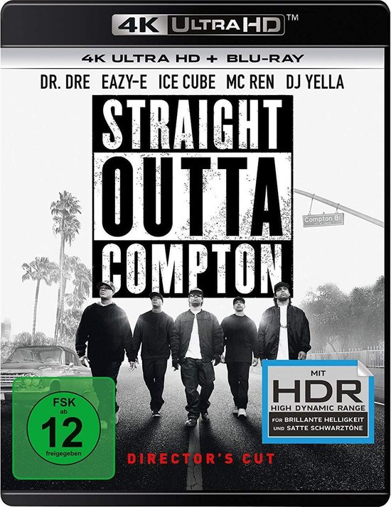 Straight Outta Compton (Director's Cut) (Ultra HD Blu-ray & Blu-ray)