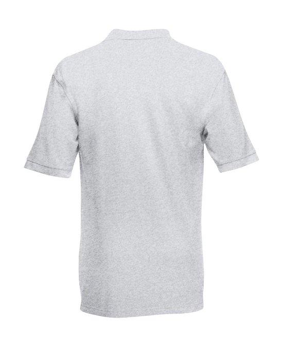 Fruit Of The Loom Premium Polo Shirt Heather Grey M
