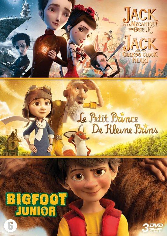 Jack and the Cuckoo-Clock Heart / De Klein Prince / Bigfoot Junior (3 DVD)