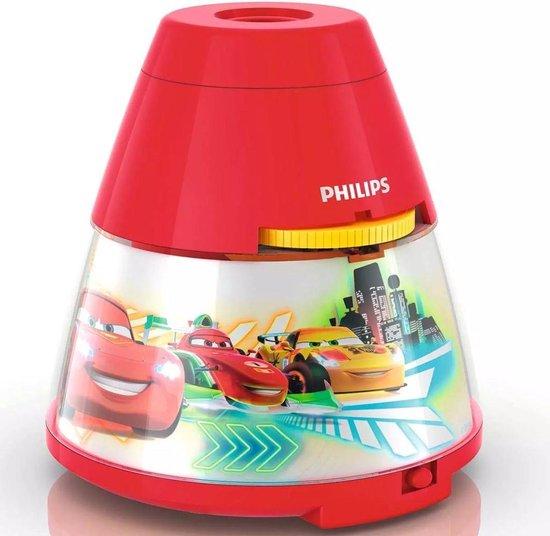 Philips Disney - Nachtlampje/Projector - Cars - LED