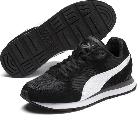 PUMA Vista Jr Sneakers Kinderen - Puma Black / Puma White - Maat 35.5