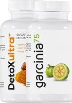 Detox & Afslankkuur met Garcinia Cambogia | Extract van zeer goede kwaliteit | Met groene thee en chroom.