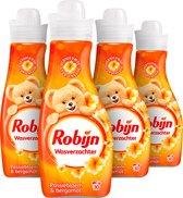 Robijn Passiebloem Wasverzachter - 4 x 30 wasbeurten - Voordeelverpakking