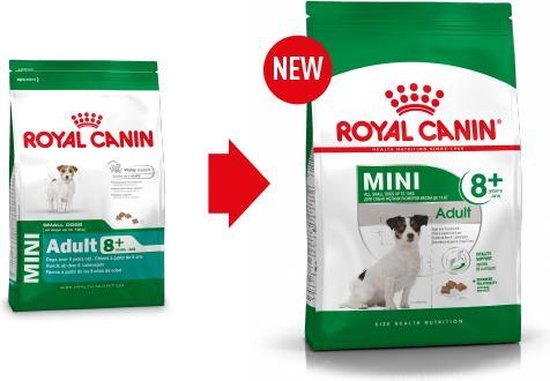 Royal Canin Mini Adult 8+ - Hondenvoer - 8 kg - Royal Canin