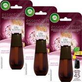 Air Wick Essential Mist Life Scents Zalige Zomer Navulling 3 x 20 ml - Voordeelverpakking
