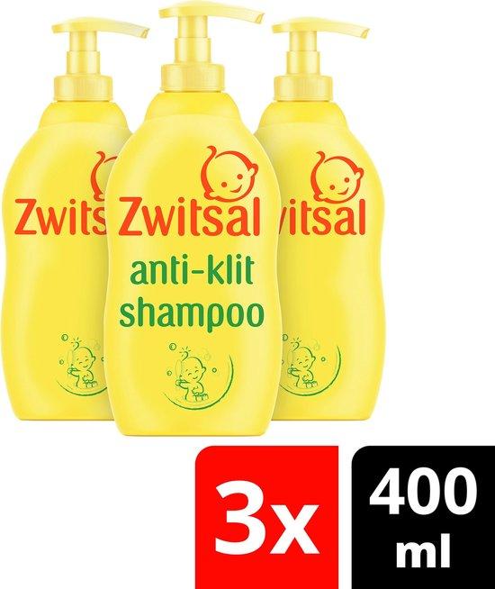 Zwitsal Baby Anti-Klit Shampoo - 3 x 400 ml - Voordeelverpakking