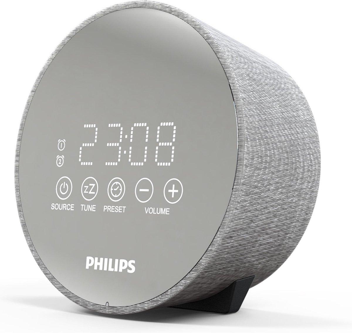 Philips TADR402/12 - Wekkerradio - Zilver/Grijs
