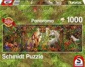 Betoverd woud, 1000 stukjes Puzzel