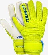 Reusch Fit Control Sg Junior Keepershandschoenen - Limoen/ Geel - Maat