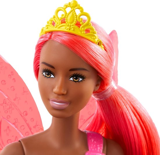 Barbie Dreamtopia Fee donker - Barbiepop