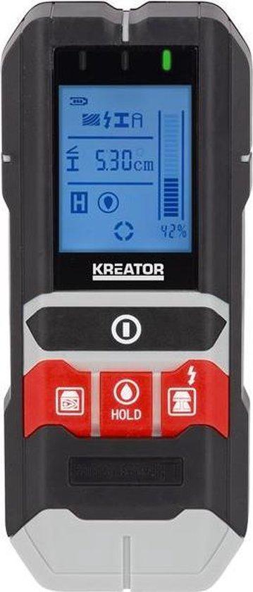 Kreator KRT706400 Multidetector - 4-in-1 (koper, metaal, hout en vocht)