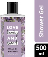 Love Beauty and Planet Douchegel Argan Oil & Lavendel - 500 ml