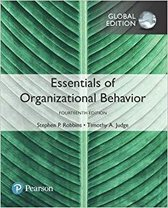 Essentials of Organizational Behavior plus Pearson MyLab Management with Pearson eText, Global Edition