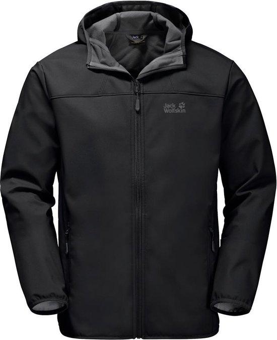 Jack Wolfskin Northern Point Heren Jas - Black - Maat XL