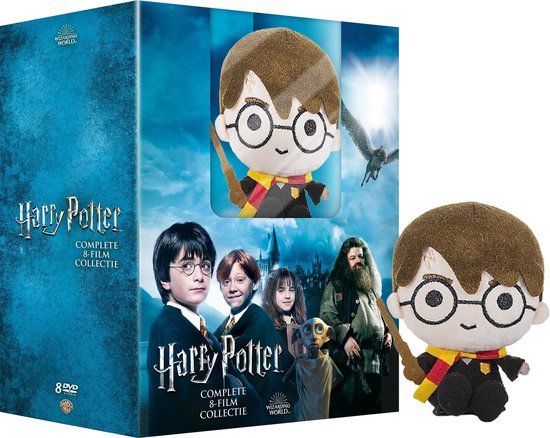Harry Potter - Complete 8-Film Collection + Plush (Special Edition)