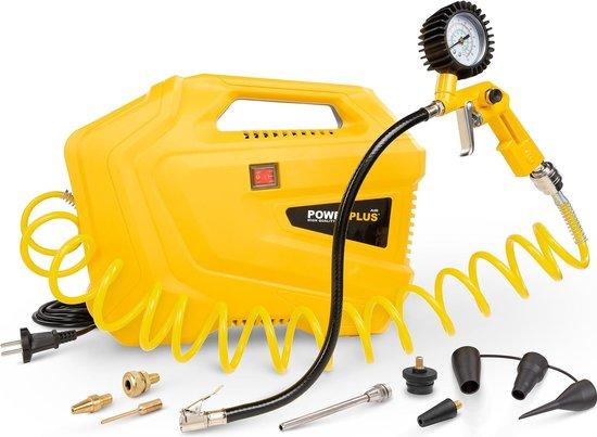 Powerplus POWX1706 Compressor - 8 bar - Incl. 11 accessoires