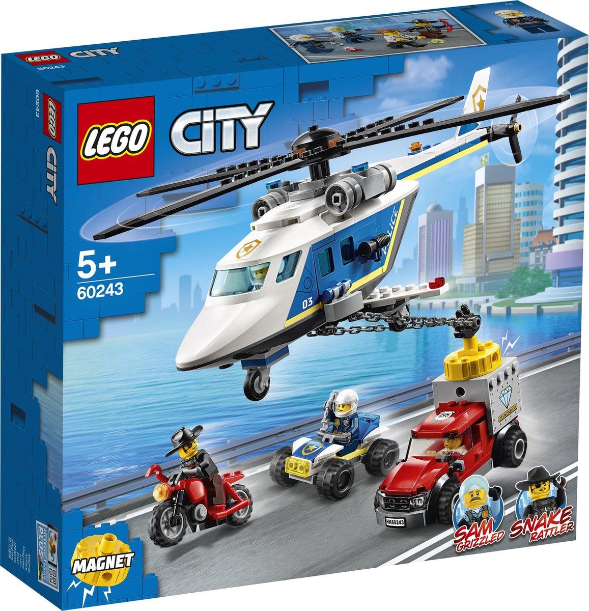 LEGO City Politiehelikopter Achtervolging - 60243