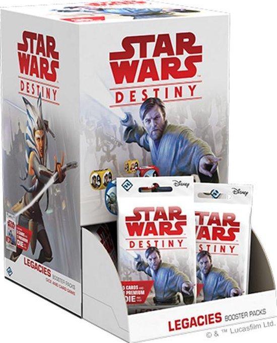 Afbeelding van het spel Star Wars Destiny: Legacies Booster Display