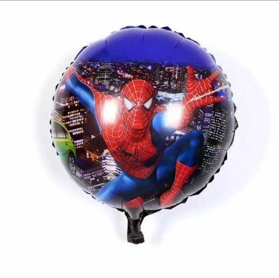 Spiderman Night Folie Ballon 18 inch