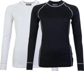 Craft Active 2-Pack Tops Thermoshirt Dames - Black/White - L