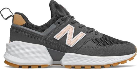 New Balance 574 Sport Sneakers - Maat 41 - Vrouwen - grijs/wit/bruin/licht  roze