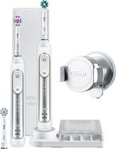 Oral-B Genius 8900 Zilver - Duopack 2 stuks - Elektrische Tandenborstel