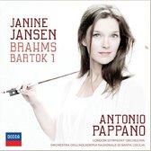CD cover van Janine Jansen - Brahms & Bartok + best of van Janine Jansen