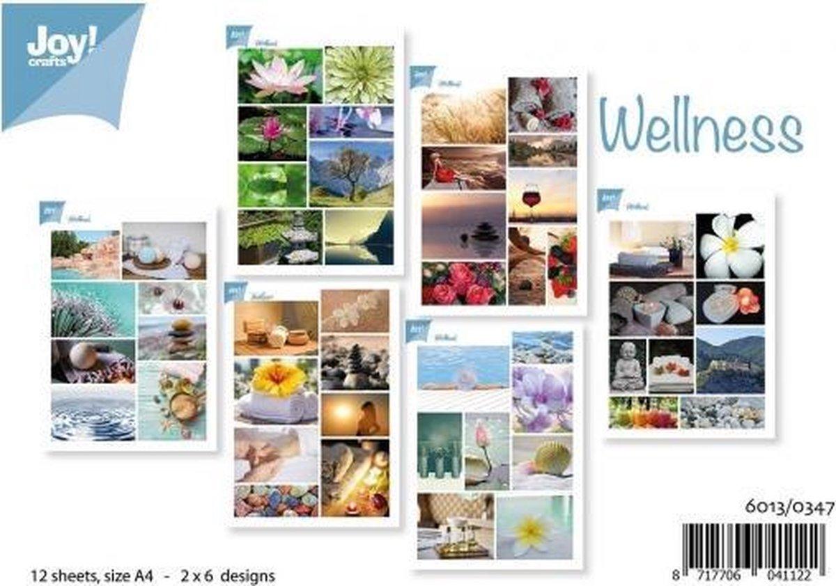 Joy!Crafts knipvellen A4 2x6 wellness