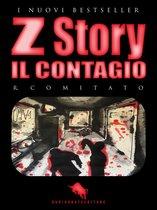 Boek cover Z STORY: Il Contagio van R. Comitato