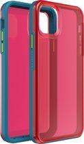 LifeProof Slam case voor Apple iPhone 11 Pro Max - Blauw/Roze