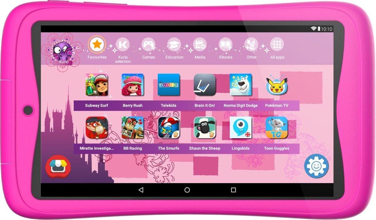 Kurio Tab Connect – 7 inch – Kindertablet – 16GB – Roze