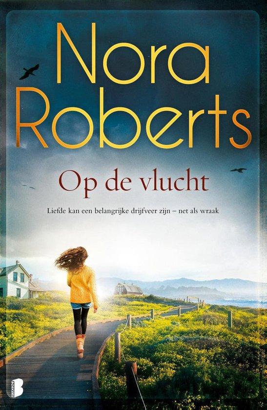 Boek cover Op de vlucht van Nora Roberts (Onbekend)