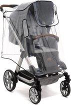 Reer - Universele Regenhoes XL - Transparant voor grote buggy en kinderwagen