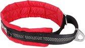 Comfortabele reflecterende halsband voor honden - LARGE - ROOD
