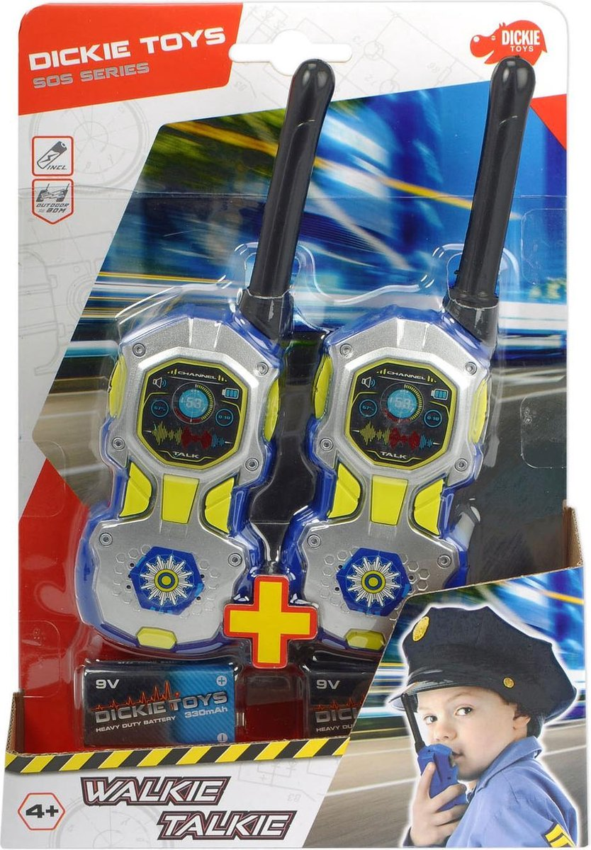 Politie Speelgoed Walkie Talkie voor Kinderen
