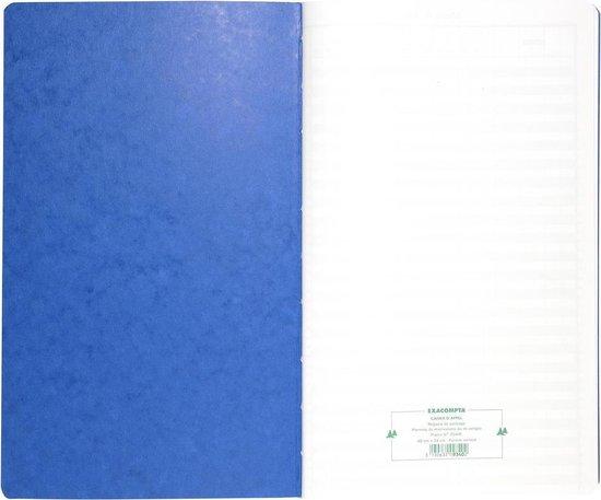 Speciaal register Tijdsregistratie 40x24cm - 46 lijnen - 80 blad