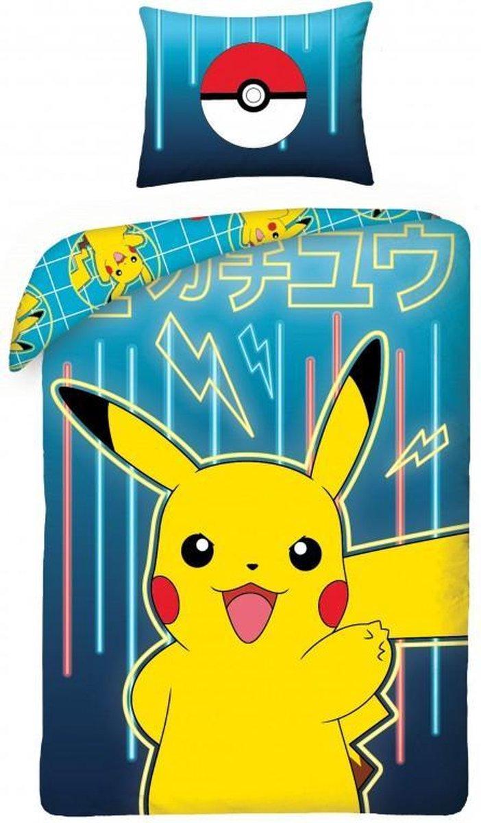 Dekbedovertrek Pokemon group: 140x200/70x90 cm