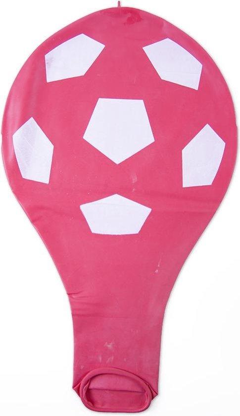 Zuid Amerikaanse 36 inch reuze ballon met voetbal print - 90 cm - grote ballonnen