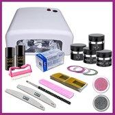 Uv gel startpakket met UV lamp,Starter Kit Set,Gelnagels Starterspakket MBS®