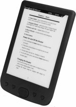 Maoo Classical E-Reader – HD Anti-Reflectie Display – Extra Groot Beeldscherm ¬- Screen Protector & Hoesje – Waterproof - Zwart