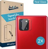 Just in Case Tempered Glass voor de Samsung Galaxy Note 10 Lite Camera Lens 2 stuks