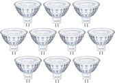 10 stuks Philips LED MR16 5W/827 36º GU5.3