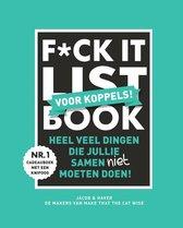 Boekomslag van 'F*CK-it list book voor koppels'